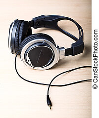 headphone background - fine image of modern headphone