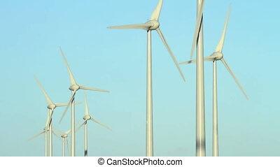 Group of wind turbines