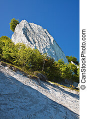 Chalk Cliffs on Ruegen Germany