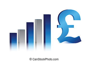 currency business British pound - currency business blue...