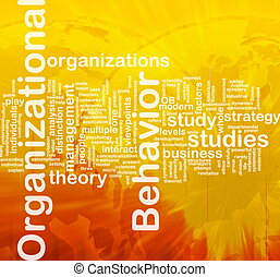 Organizational behavior background concept - Background...