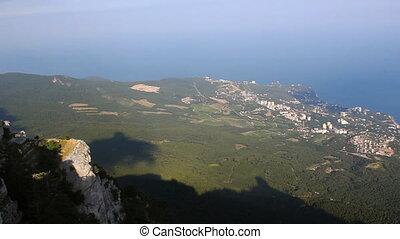 View from the Mount Ai-Petri (Crimea)