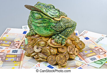 Luck frog