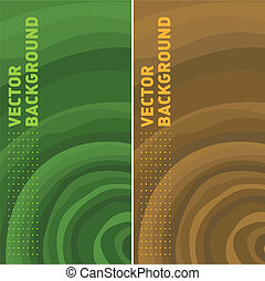 tree rings templates - colorful background of vector...