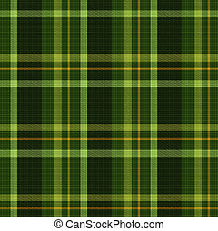 Seamless tiling green plaid textures