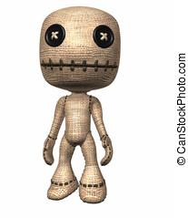 voodoo, boneca
