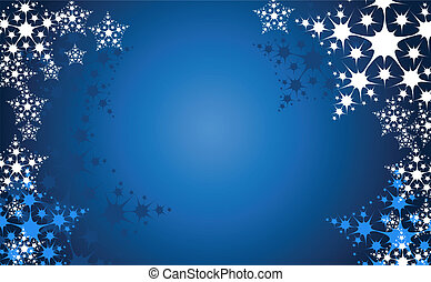 christmas snow flake background