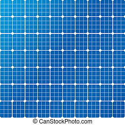 solar cells pattern - illustration of a solar cell pattern,...