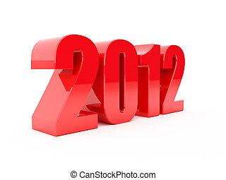 Meet 2012 - We meet in 2012, three-dimensional figures of...