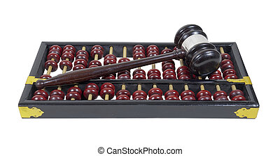 Gavel and Abacus