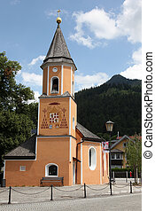 church in garmisch, germany