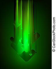 Green download web background. EPS 8 vector file included
