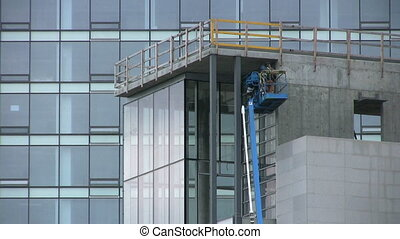 Building Inspectors - A close up shot of a pair of building...