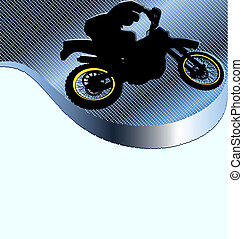 Motorcycle Racing Background