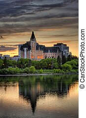 Delta Bessborough Hotel in Saskatoon, Canada - The Delta...