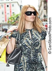 shopping woman - Shopping woman.