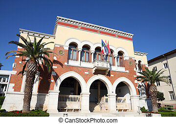 Porec - Croatia - Porec on Istria peninsula. Town Hall...