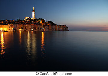 Rovinj - Croatia - Rovinj on Istria peninsula. Typical...