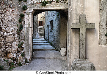Mysterious town - Croatia - Plomin on Istria peninsula...