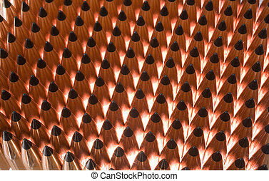 polymer bullets - copper plated bullets with a polymer tip...