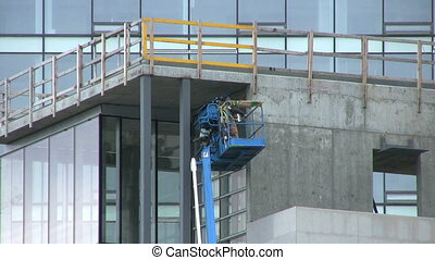 Building Inspectors Close Up - A close up shot of a pair of...