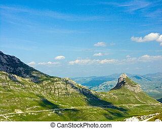 montanha, vale