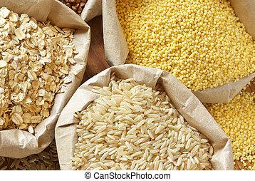 variado, cereales