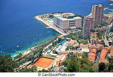 View of Monaco, Monte Carlo