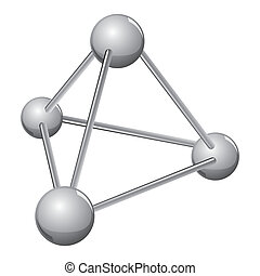 simple silver molecule - A molecule is defined as an...