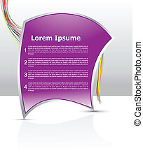 abstract corporate banner