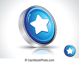 abstract shiny star icon