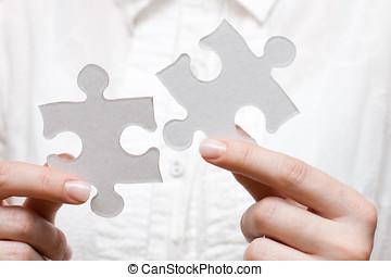 persona, problema, risolvere, affari