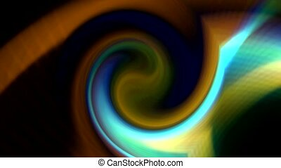 swirl ray light and fiber optic shaped rotation blackhole...
