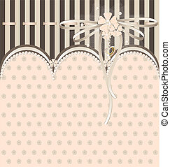 white-beige variation with ribbon - background fantasy...