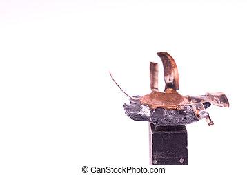 Squashed bullet