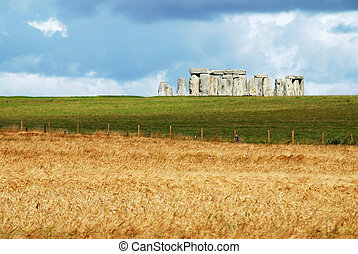 Stonehenge - Historical monument Stonehenge not far from...