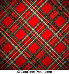 Royal Stewart tartan, background. EPS file includes seamless...