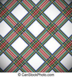 Modern dress Stewart tartan, background. EPS file includes...
