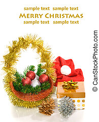 xmas background  with room for text