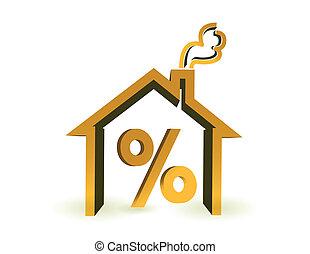 Discounts for real estate illustration design