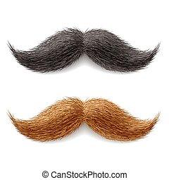falsificación, bigotes
