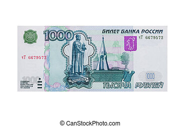 1000 roubles