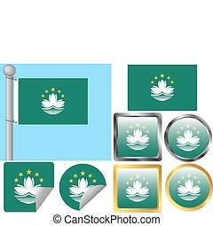 Flag Set Macau