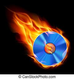 Burning CD