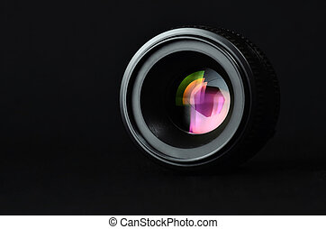 Photography Lenses - Close up shots of a lens for...