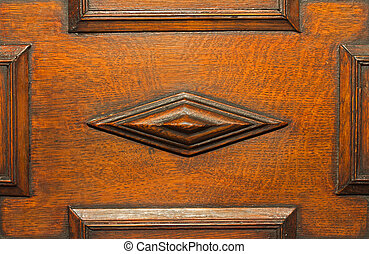 Wood moulding - Antique wood moulding