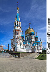 Uspensky Cathedral. Omsk.