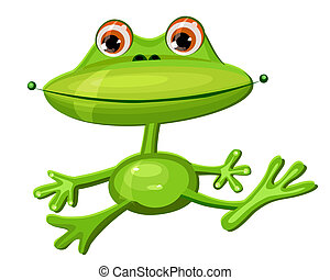 green frog funny