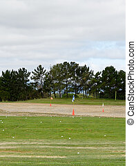 shooting range  - Golf course in California- shooting range