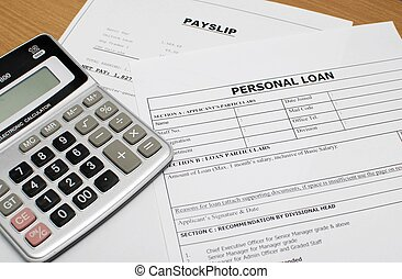personal form - This is an image of personal loan form